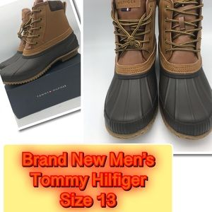 e57b5f3a12e82 Tommy Hilfiger Ladies Duck Boot size 13